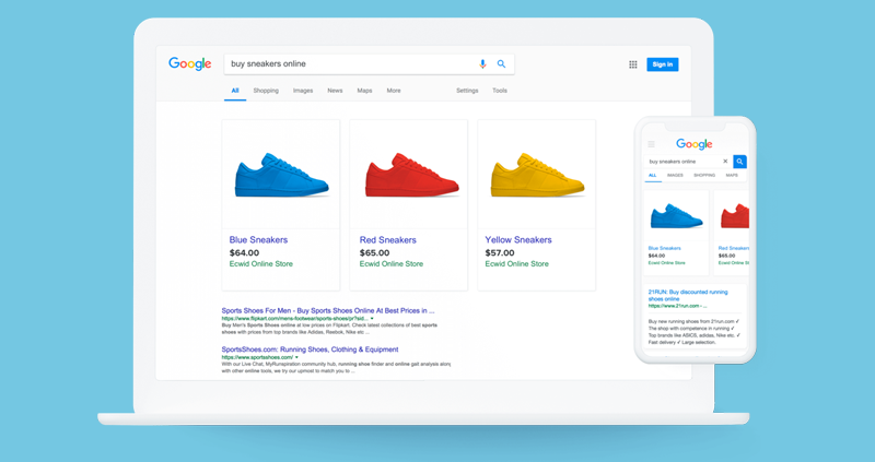 Google Shopping mit MyCOMMERCE
