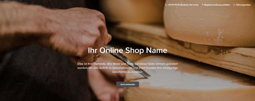 Ohne Webseite zum eigenen Online Shop - Einstieg