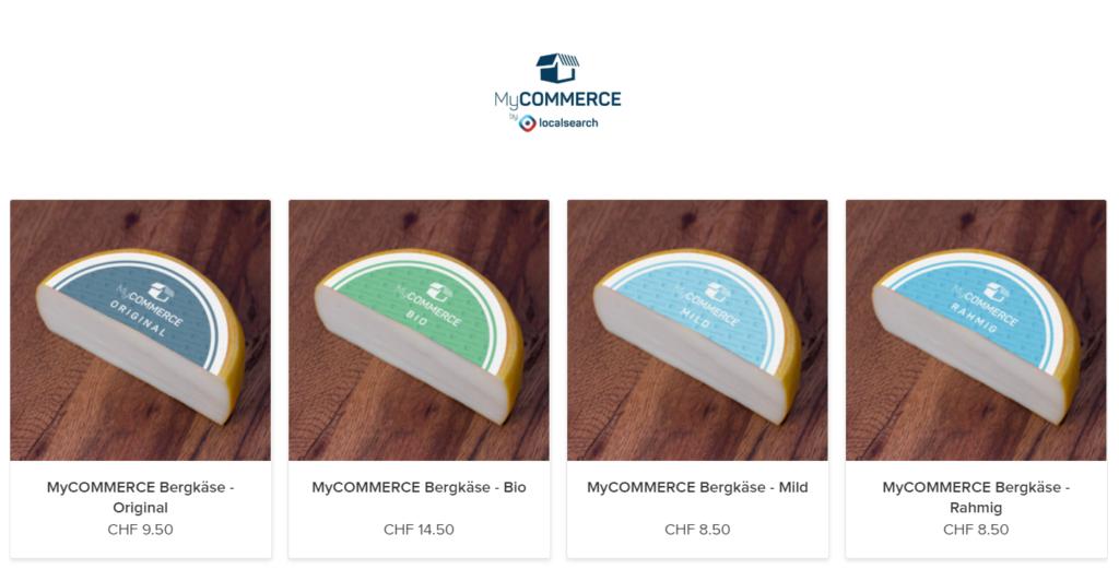 Ohne Webseite zum eigenen Online Shop - Logo