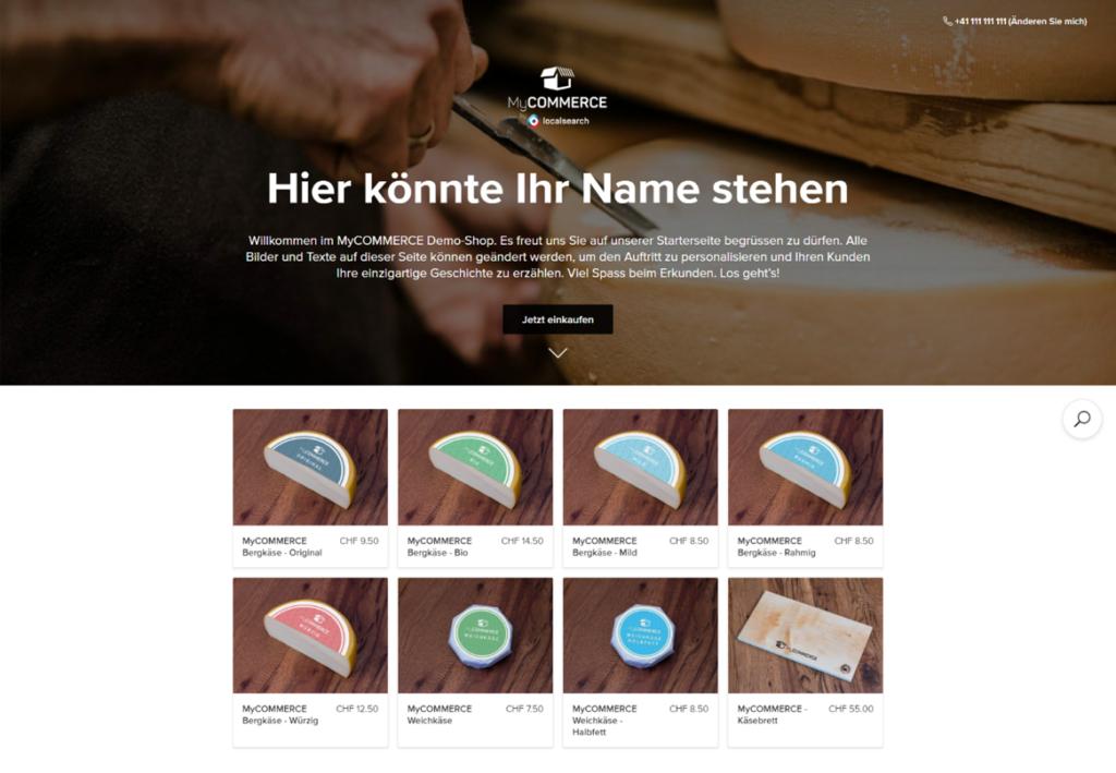 Online Shop erstellen - Beispiel
