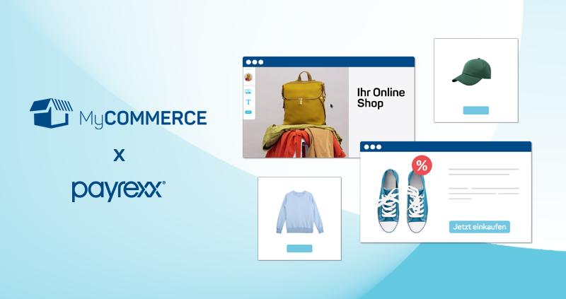 Online Zahlungsmittel MyCOMMERCE Payrexx